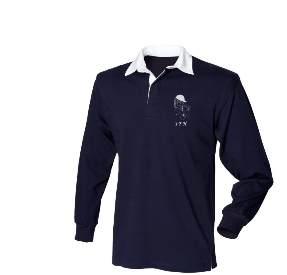 Kid's Rugby Shirt- Jed Forest Hunt