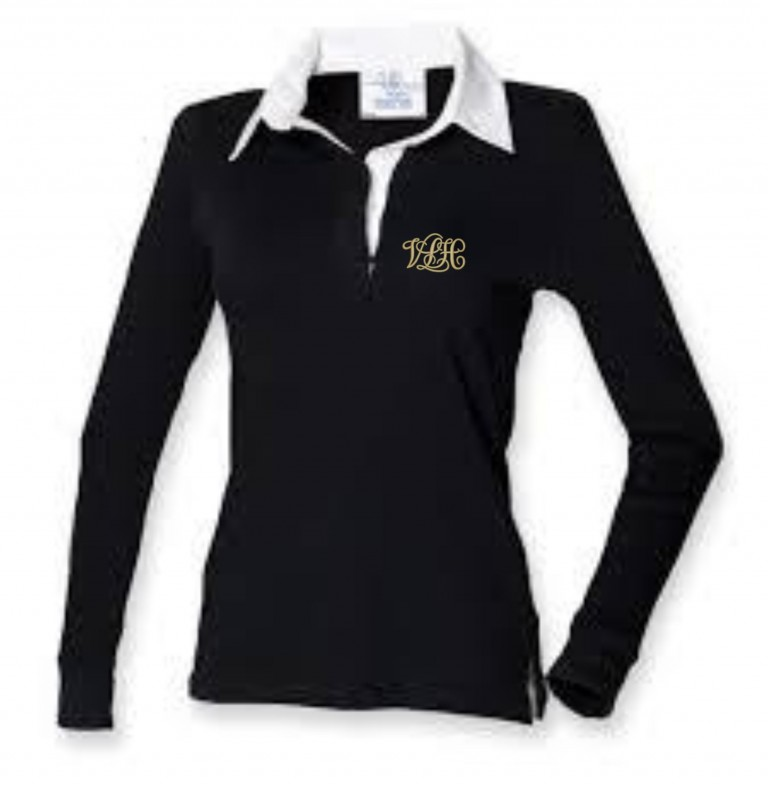 Ladies Long Sleeve Rugby Shirt