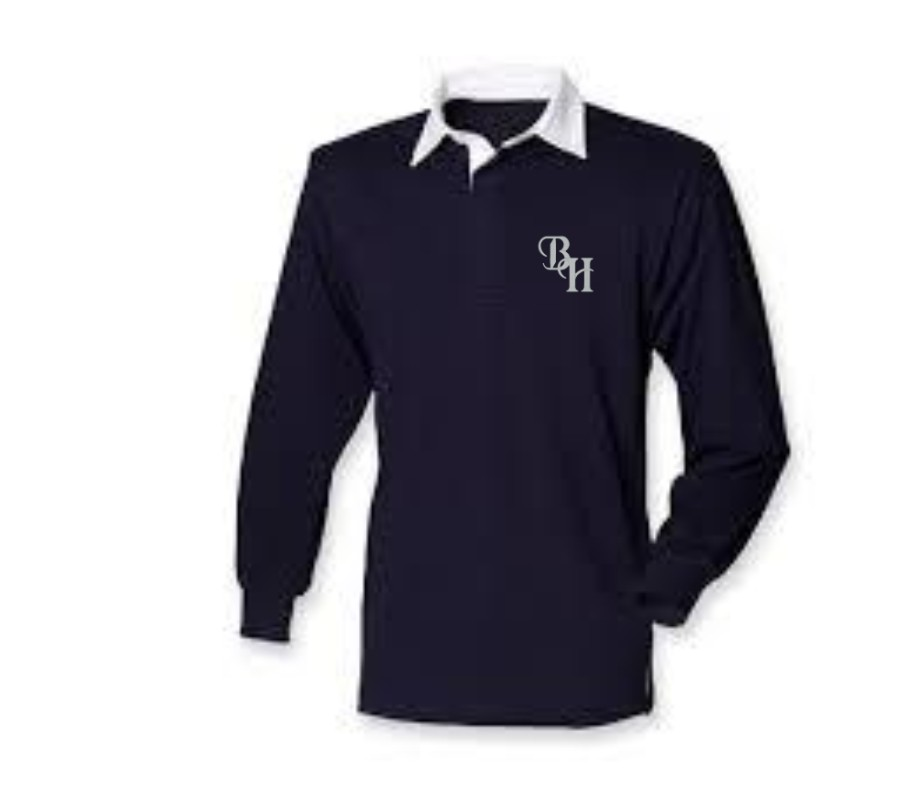Rugby Shirt- Border Hunt – C & A Embroidery and Print